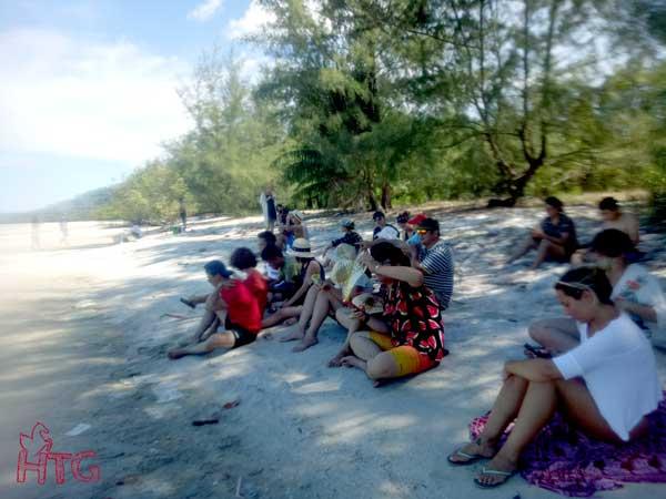 Tour Adam Koh Rong Campuchia ngắm plankton