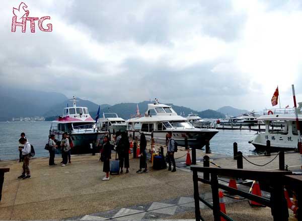 Du lịch hồ Nhật Nguyệt Đài Trung