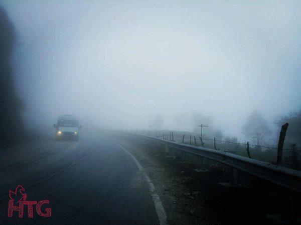 Buổi sáng ở Sa Pa rất lạnh, thời tiết như mùa đông