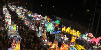 The Mid-Autumn Lantern Parade in Tuyen Quang – Get back to our childhood