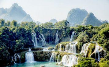 Ban Gioc Waterfall Cao Bang Vietnam