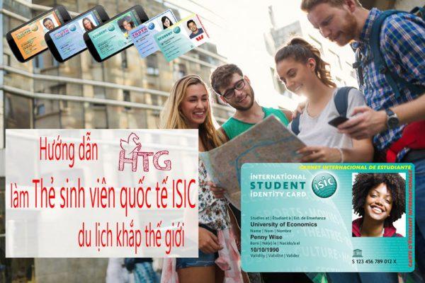 làm thẻ sinh viên quốc tế ISIC