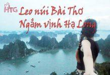 Leo núi Bài Thơ Hạ Long