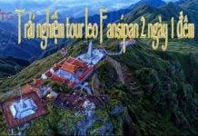 tour leo Fansipan 2 ngày 1 đêm