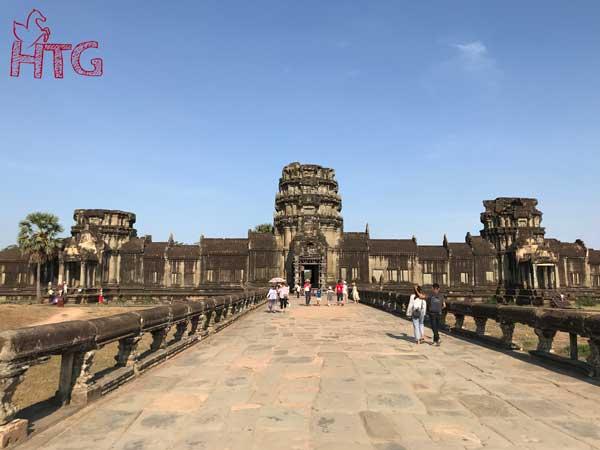 Kinh nghiệm du lịch Angkor Wat Campuchia