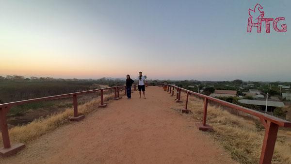 đi ngắm bình minh ở Bagan